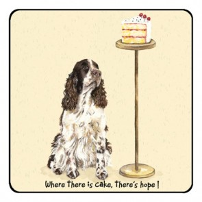 The Little Dog Cake Coaster