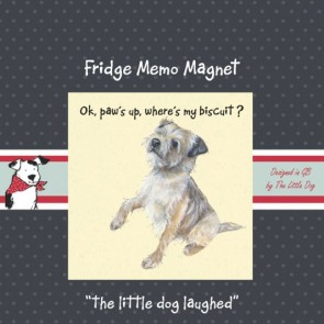 The Little Dog Pablo Fridge Magnet