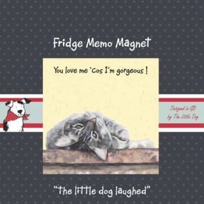 The Little Dog Oscar Fridge magnet