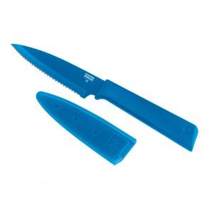 Kuhn Rikon COLORI®+ Serrated Paring Knife in Blue