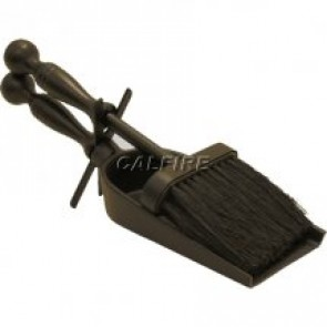 Black Cast Hearth Tidy Set