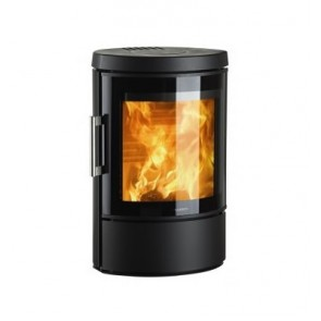 Hwam 3110 in black with glass door