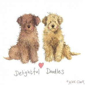 Alex Clark Delightful Doodles Canvas block