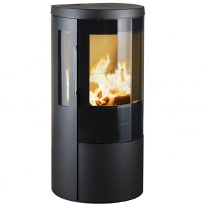 Hwam 3630 in black with Glass door