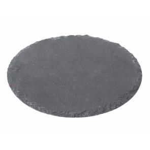 Slate Round Placemat (D200mm)