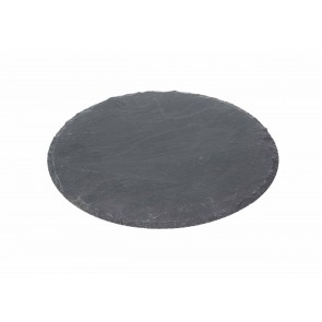 Slate Round Placemat (D300mm)