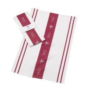 Parlane claret miel tea towel