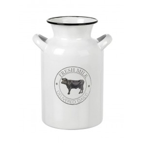 Enamel Milk Churn