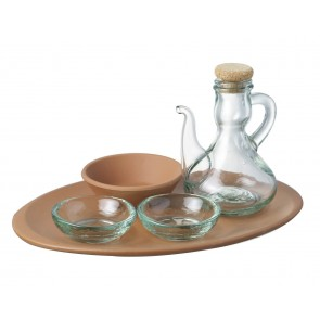 Terracotta Tapas Set