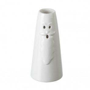 Santa Bud Vase