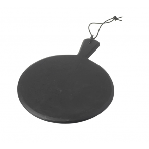 Black Slate Pizza Board / Serving Platter by Parlane