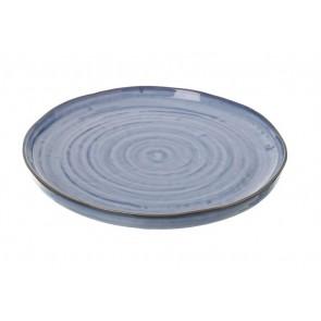 Parlane Lucani Ceramic Blue Plate