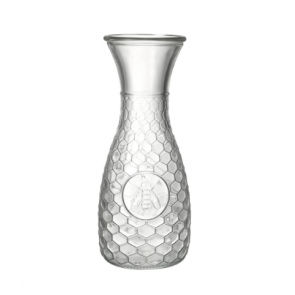 Parlane Honeycomb & Bee Glass Carafe