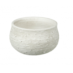 Parlane Crete Ceramic White Planter Pot