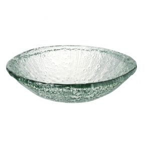 Large Parlane Rain Recycled Glass Bowl