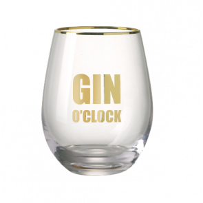 Parlane Gin O'Clock Drinking Glass