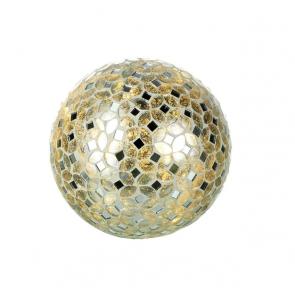 Parlane Mosaic Silver Glass Globe Light