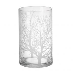 Parlane Westonbirt Glass Hurricane Lantern Large