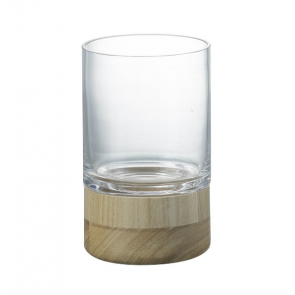 Parlane Buscot Hurricane Lantern with Bamboo Base