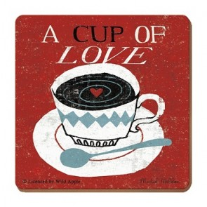 Cup of Love Coaster