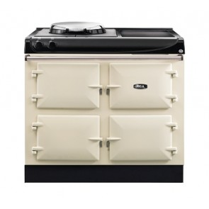 AGA 3 Series with cookware storage linen