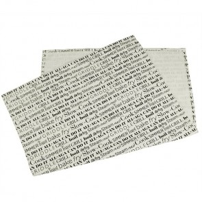 AGA Script Tea Towel In Cream & Black