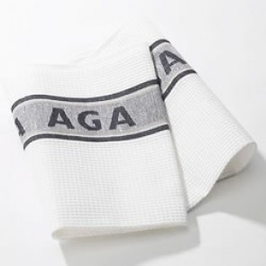 AGA Tea towel in Black