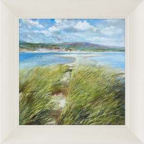 Emerald Isle Framed Picture by Artist Nel Whatmore