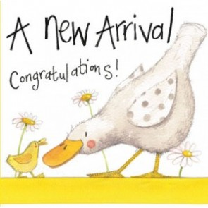 Alex Clark New Arrival Large Sparkle Card