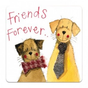 Friends Forever Coaster - Alex Clark