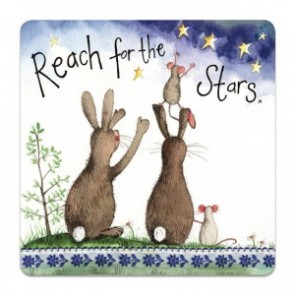 Reach for the Stars Coaster - Alex Clark