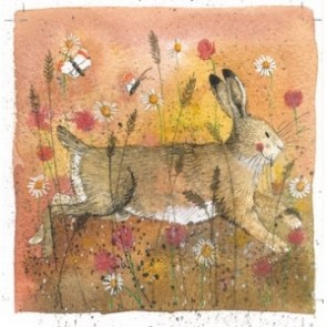 Alex Clark Hare Mini Print