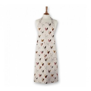 Alex Clark Rooster Patterned Apron
