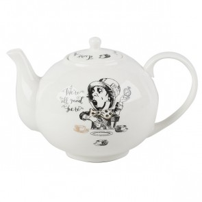 Alice in Wonderland 6 Cup Teapot, Fine China by Creative Tops