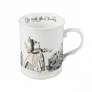Alice In Wonderland Fine China Tankard Mug by Creative Tops