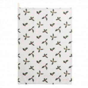 sophie allport holly & berry tea towel