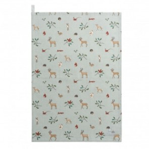 sophie allport woodland tea towel