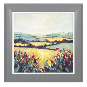 Artko Hills & Meadows 1 Framed Picture by Elizabeth Baldin