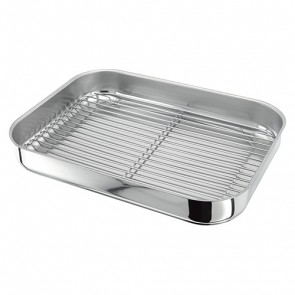 Stellar Stainless Steel Bakepan with grid