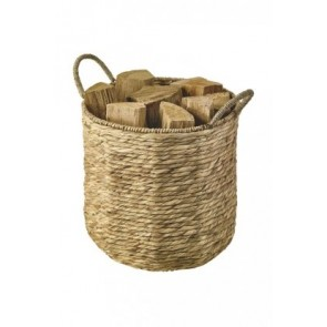 Dixneuf Bali Log Holder Seagrass