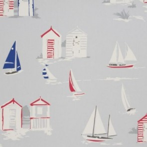 Beach Huts PVC Table Cloth