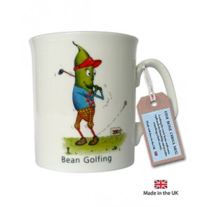 Bean Golfing Mug by The Compost Heap