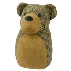 Rocky Bear Fabric Door Stop