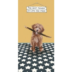 The Little Dog - Best Things Greeting Card