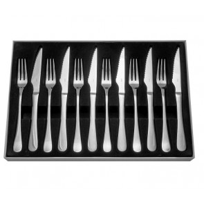 Judge 12 Piece Steak Knife & Fork Set