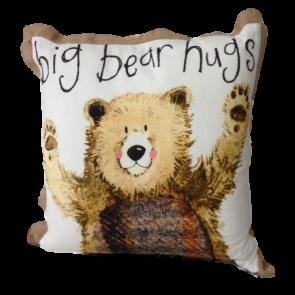 Alex Clark Big Bear Hugs Cushion - 45cm x 45cm