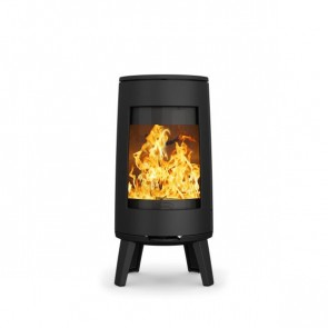 Dovre 300 Stove Matt Black on Legs
