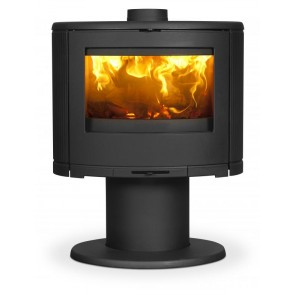 Dovre Bow Stove on Pedestal