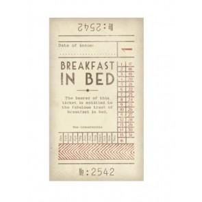 Breakfast in bed Pamper Ticket