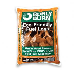 Burly Burn compressed logs bag - 15kg